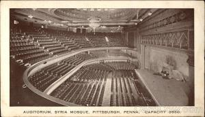 Syria Mosque - Auditorium Pittsburgh